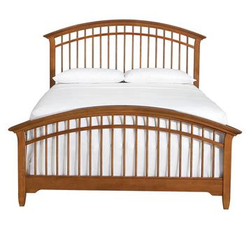 queen spindle bed bridges 2 0 queen spindle bed by thomasville furniture