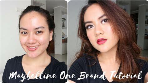 tutorial dandan muka tutorial makeup untuk wajah berjerawat maybelline one