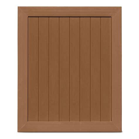 pro veranda veranda pro series 5 ft w x 6 ft h brown vinyl anaheim