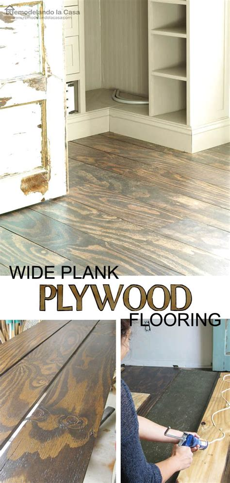 diy kitchen floor ideas diy plywood floors stains basement ideas and the floor