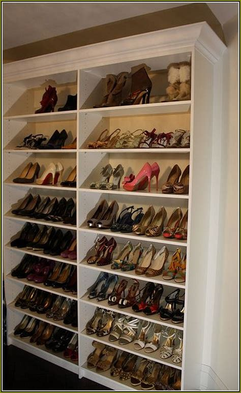 Kitchen Cabinet Pull Out Shelves Home Depot - closet shoe rack ideas home design ideas