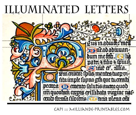 printable medieval letters 10 best images of manuscript printable alphabet art