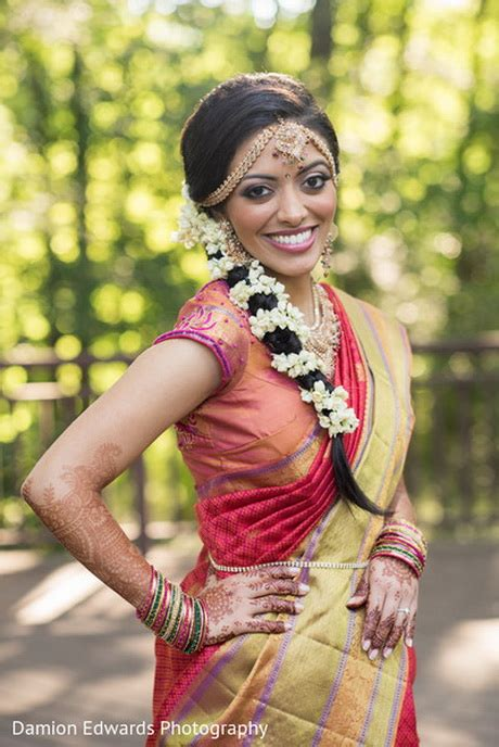 Tamil Wedding Hairstyles For Hair by Tamil Bridal Hairstyles Pictures