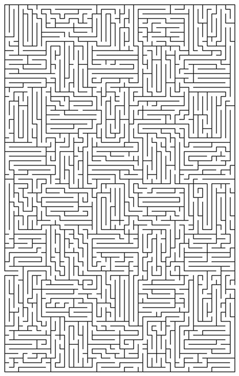 Free Difficult Mazes Coloring Pages Extremely Coloring Pages