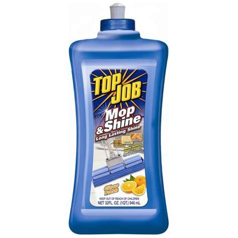 top job mop shine citrus fresh multi surface floor cleaner 32 fl oz cleaning supplies