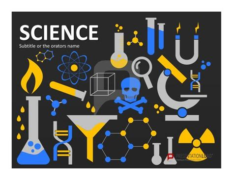 science template powerpoint physics and chemistry presentations function best with