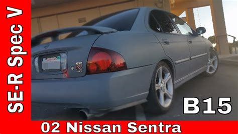 02 Sentra Spec V by 02 Nissan Sentra Se R Spec V B15
