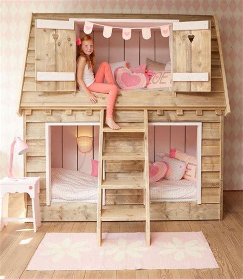 chambre cabane fille lit cabane enfant id 233 es en immages pour vous inspirer