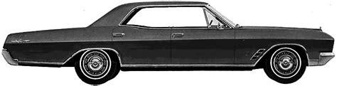 1966 Buick Skylark 4 Door Hardtop by Car Blueprints Buick Skylark 4 Door Hardtop Blueprints