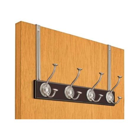 The Door Coat Hooks by Meridian The Door Coat Rack Espresso In The