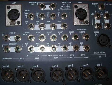 Mixer Allen Heath Gl2400 allen heath gl2400 40 image 119776 audiofanzine