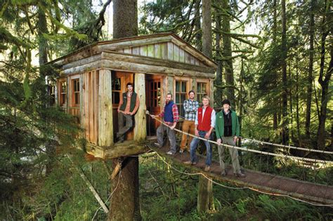 seattle treehouse point featured in animal planets the seattle times treehouse masters tv show has nw roots