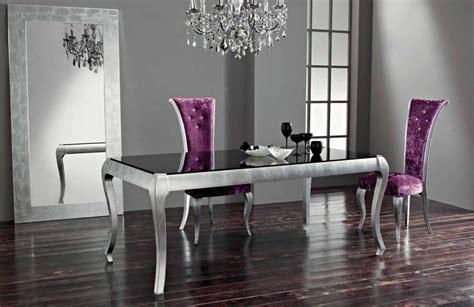 mesas plateadas