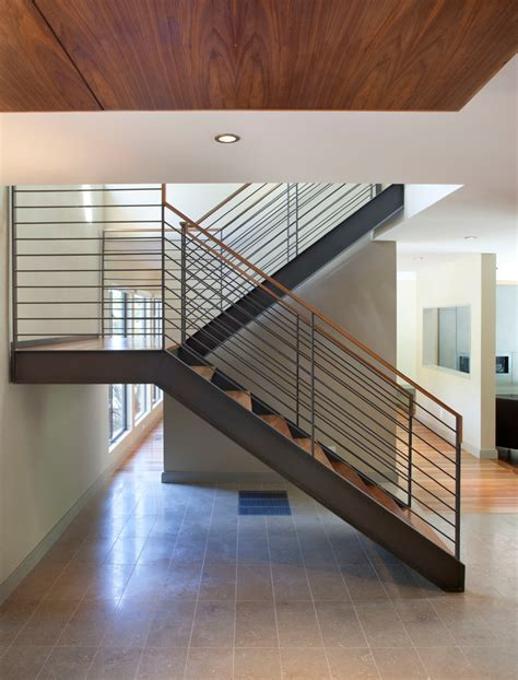 unique stairs design modern magazin metal stairs interior metal stair railing ideas cable