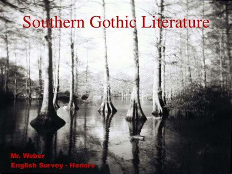 themes of southern gothic literature southern gothic literature