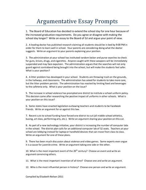 good persuasive essay topics for high school english literature