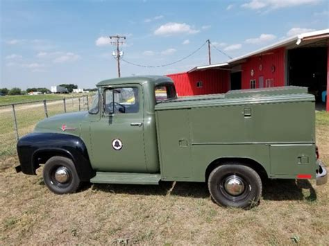Bell Ford by 1956 F100 Pacific Bell Telephone Utility Truck For Sale