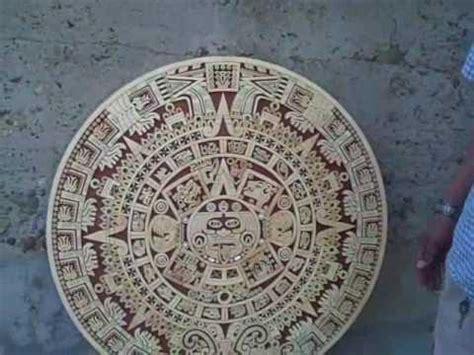 Como Leer El Calendario Azteca Grabado En Madera De Calendario Azteca Con Speedmarker Cl