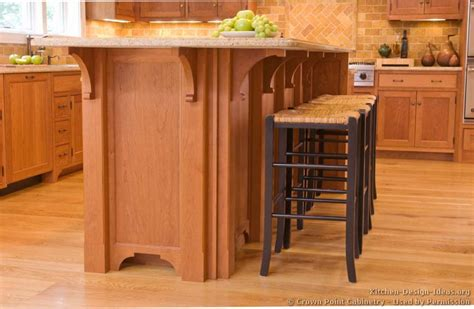 Bar Height Kitchen Island by Pictures Of Kitchens Traditional Light Wood Kitchen