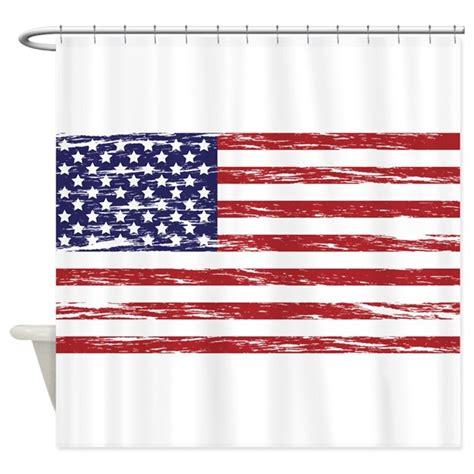 american flag shower curtain american flag shower curtain by mightyawesome