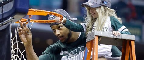 Michael Jackson Wins March Madness by Cancer Patient Wins Of Michigan State