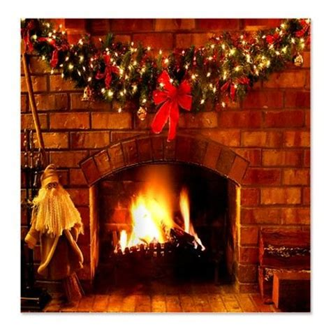 fireplace curtain christmas fireplace shower curtain on
