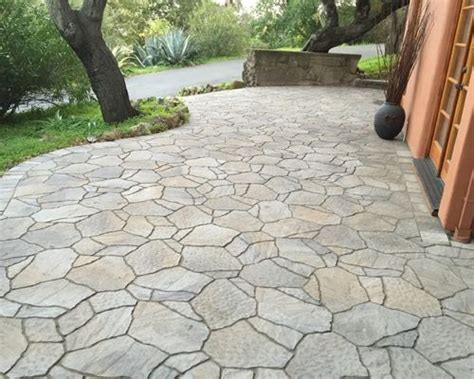 Belgard Patio Pavers Back Yard Belgard Mega Arbel Flagstone Paver Patio