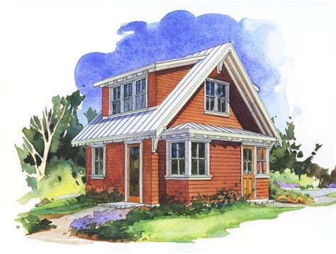 perfect small house plan the salal studio perfect little house