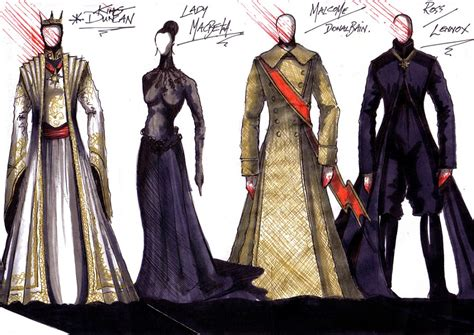 Shakespeares Wardrobe by Philip Witcomb Theatre Design Macbeth