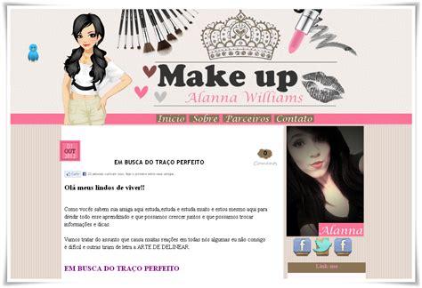 layout blog moda laysa layout make up alanna williams entregue