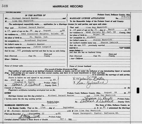 Page murphy marriage ohio