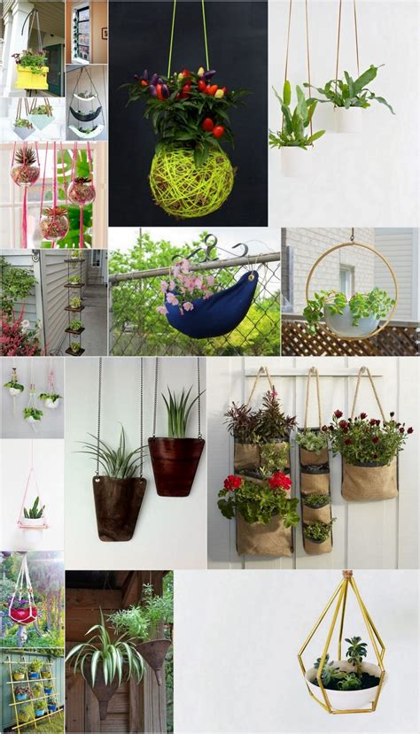 Unique Hanging Planters by Unique Diy Hanging Planters You Can Easily Make At Home