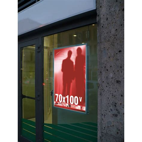 cornice led cornici retroilluminate a led per poster 70x100 studio t