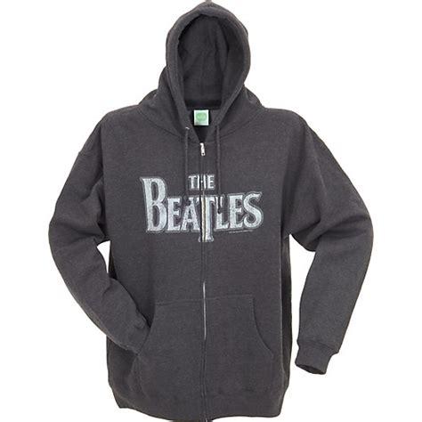 Hoodie The Beatles Imbong 1 gear one beatles vintage logo zip up hoodie musician s friend