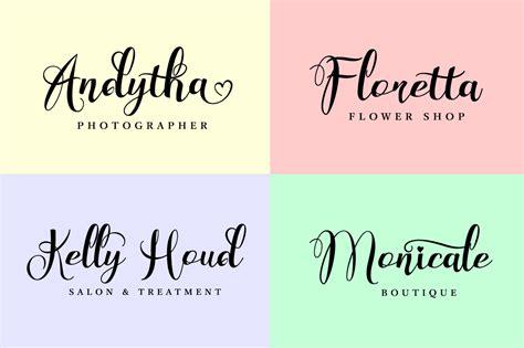 Wedding Font Bundle by Wonderfebia Script Wedding Font By Fe Font Bundles