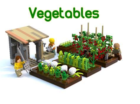 lego ideas vegetable garden