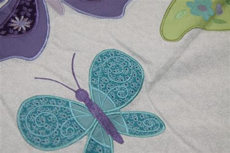 nojo beautiful butterfly 7 crib bedding set review