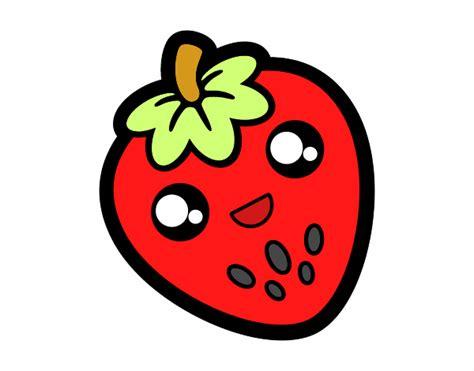 imagenes de fresas kawaii dibujo de kawai pintado por en dibujos net el d 237 a 26 12 15