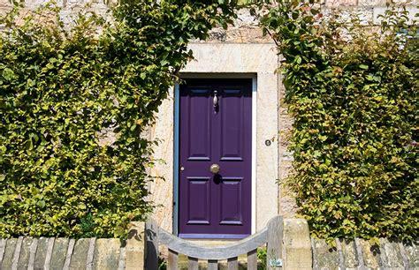 purple front door ideas    home  inviting