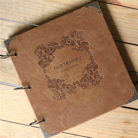 Handmade Quality - new arrival quality leather handmade diy gift photo album