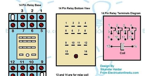 11 pin relay base wiring diagram wiring diagram