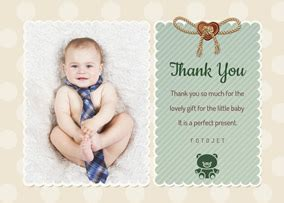 baby thank you cards with photo template baby thank you cards make custom baby thank you cards