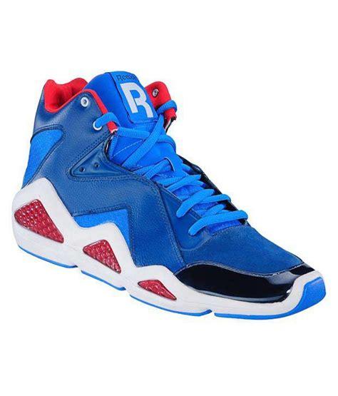 reebok basketball shoes price reebok cl kamikaze iii blue basketball shoes price in