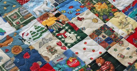 Scrappy Patchwork Quilts - buttons and butterflies scrappy patchwork client quilt