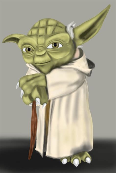 Drawing Yoda by Learn How To Draw Yoda From Wars Wars Step By