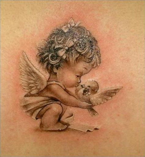 baby angel tattoos designs 55 baby tattoos designs with meanings