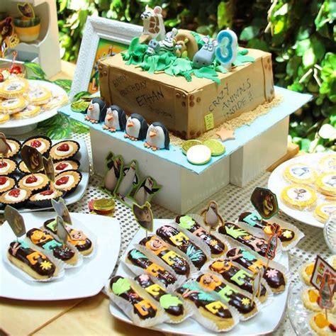 karas party ideas madagascar themed birthday party karas party ideas