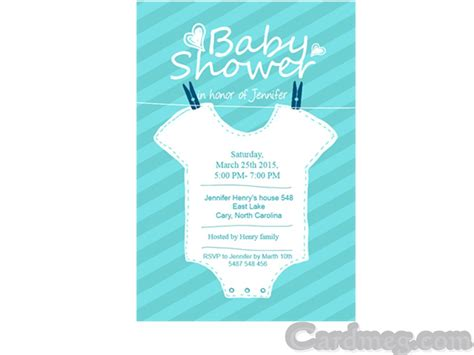 baby shower invitations baby shower invitations template