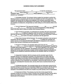 Business Contract Template by 7 Contract Templates Free Word Pdf Documents