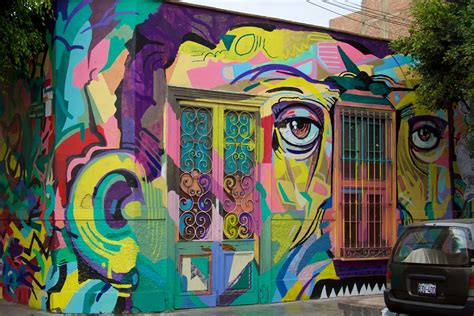 Tupac Wall Mural south america street art destinations you need to see